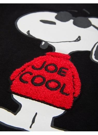 Marks & Spencer Joe Cool Baskılı T-Shirt Siyah